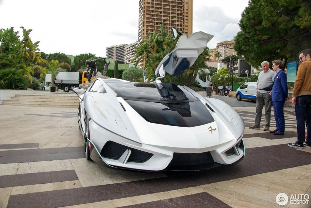Siêu xe vũ trụ FV-Frangivento Asfanè bất ngờ xuất hiện ở Monaco-6