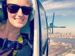 Cô gái Hà Lan thỏa mãn ước mơ chu du khi làm phi công
