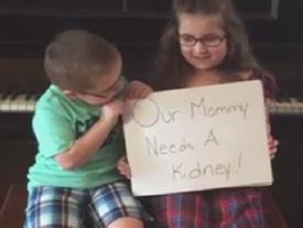 Thương mẹ bệnh nặng, 2 em nhỏ lên mạng quay video 'xin thận' và điều kỳ diệu xuất hiện