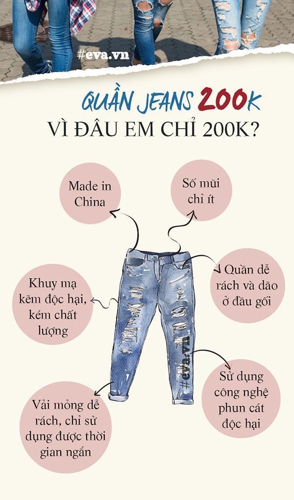 Cùng là quần jeans, sao cái này chỉ có 200 ngàn còn cái kia lại đến 20 triệu?-2