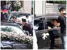 Clip: Cận cảnh dàn siêu xe hàng chục tỷ đồng rước Hoa hậu Đặng Thu Thảo về nhà chồng