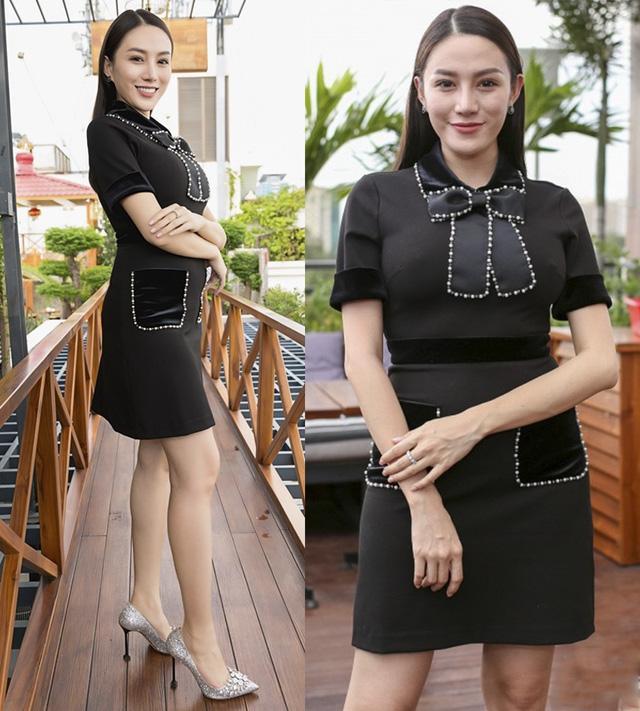 Lê Hà - Hoàng Yến lộ khuyết điểm body mũm mĩm, lọt top sao mặc xấu vì thiếu tinh tế-7