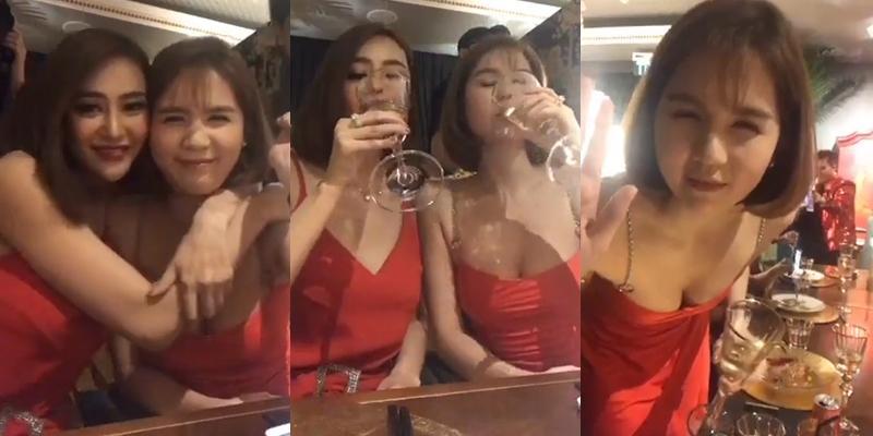 Ngọc Trinh say xỉn vẫn không quên nhắc Linh Chi đừng để tay đi lạc trên vòng 1 nóng bỏng-2