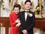 Hoa hậu Đặng Thu Thảo hạnh phúc và rạng rỡ trong ngày về chung nhà cùng chồng đại gia