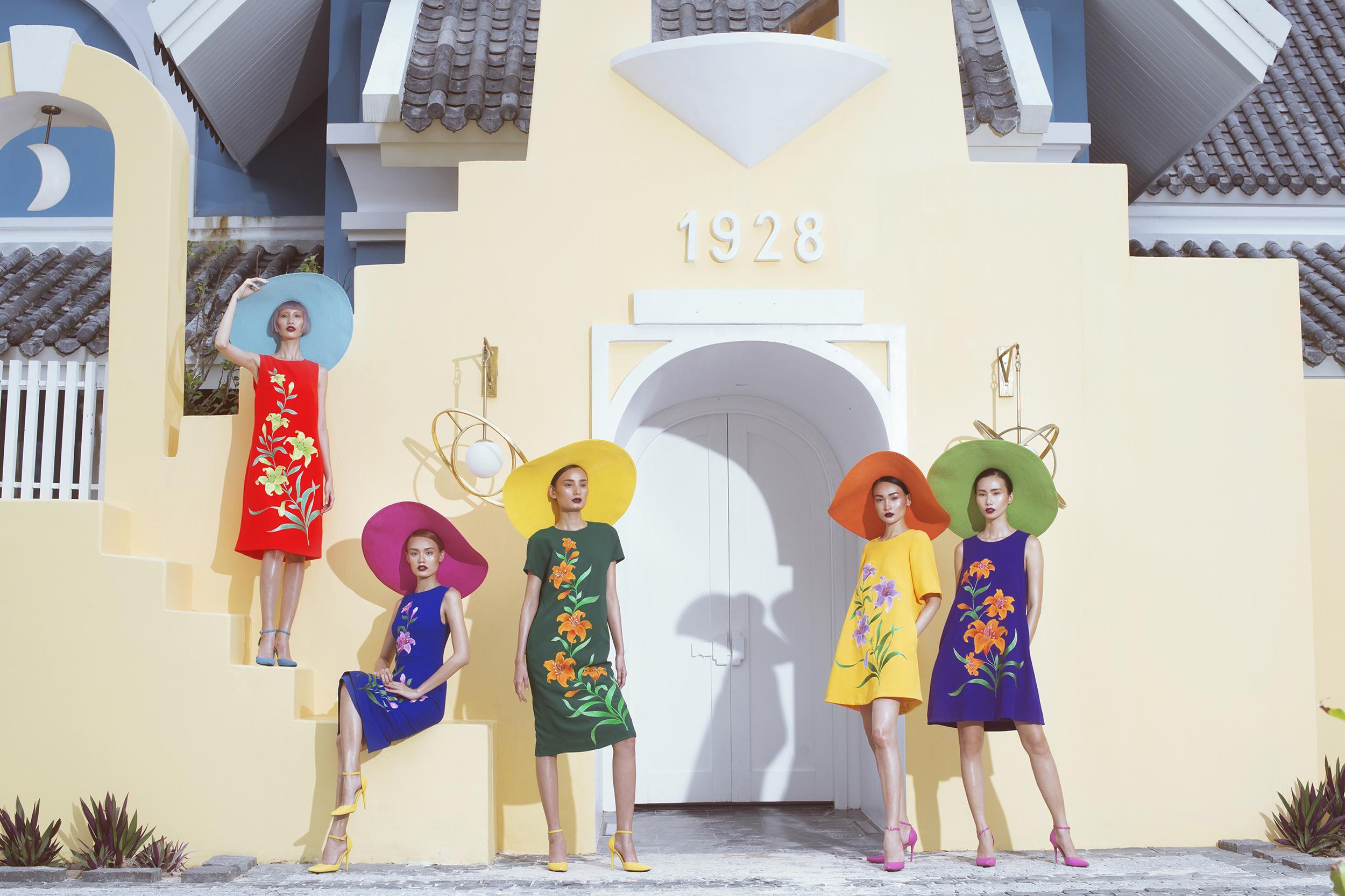 Dàn mẫu cuốn hút với váy áo sắc màu của Đỗ Mạnh Cường-4