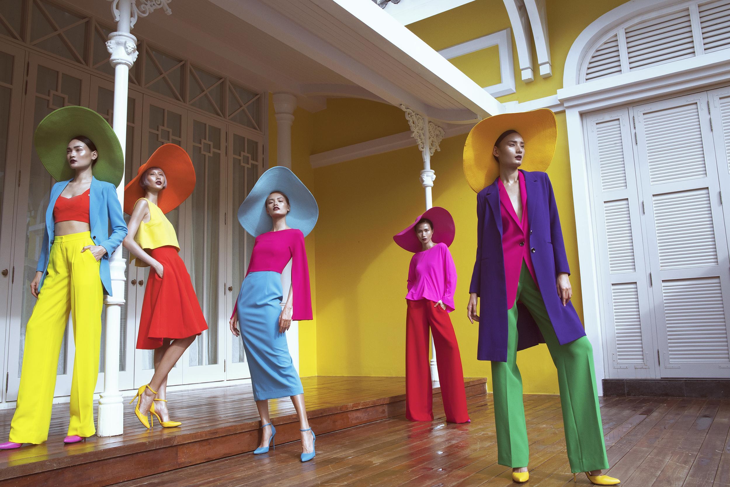 Dàn mẫu cuốn hút với váy áo sắc màu của Đỗ Mạnh Cường-5