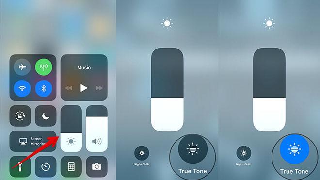 Bí quyết vô hiệu hóa màn hình True Tone trên thiết bị iOS-2