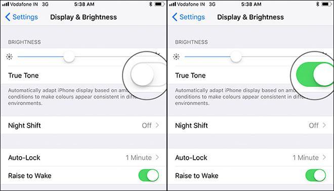 Bí quyết vô hiệu hóa màn hình True Tone trên thiết bị iOS-3