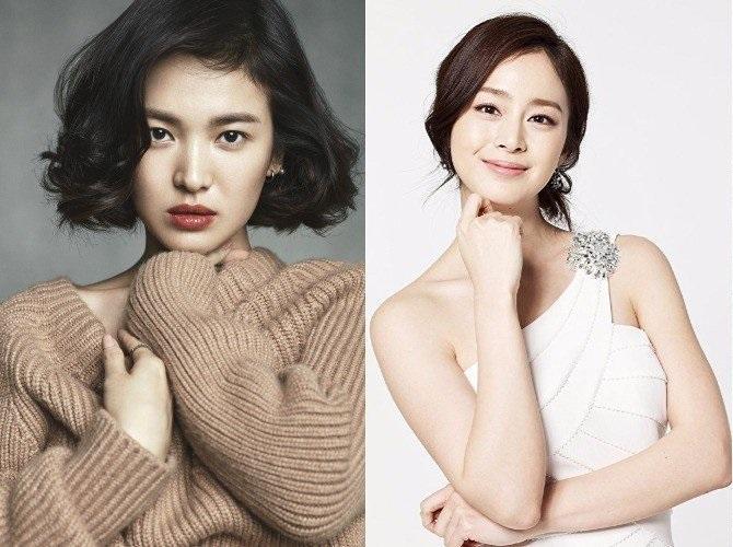 Sao Hàn 6/10: Dù đang bầu bì, nhan sắc Kim Tae Hee vẫn vượt mặt Song Hye Kyo-1