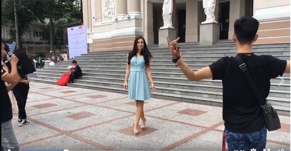 Chỉ đóng vai phụ, người đàn ông này pose dáng khiến cả Huyền My lẫn dàn thí sinh Miss Grand International phải ngả nón-8