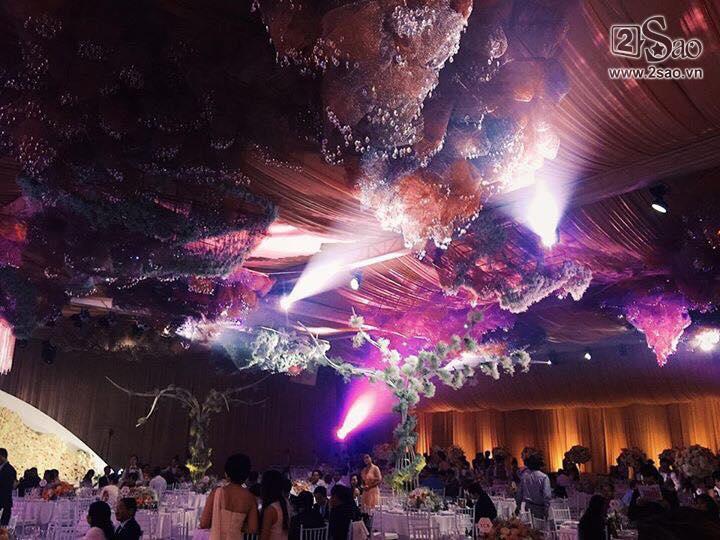 Không gian tiệc cưới hoành tráng của hoa hậu Đặng Thu Thảo-1