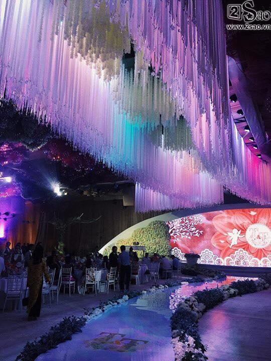 Không gian tiệc cưới hoành tráng của hoa hậu Đặng Thu Thảo-2