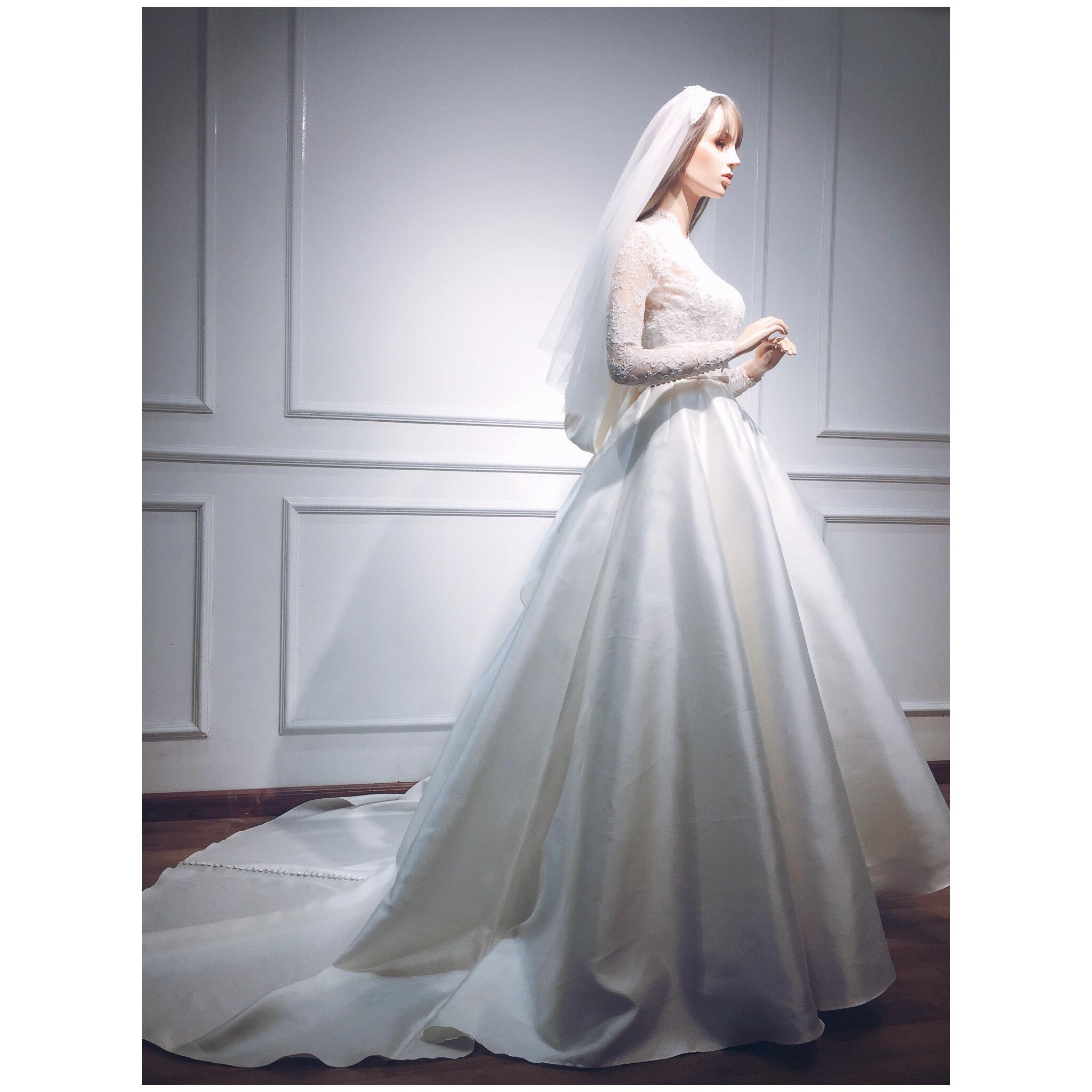 Bí mật chiếc váy cưới biến Đặng Thu Thảo thành nàng công chúa trong ngày cưới-7