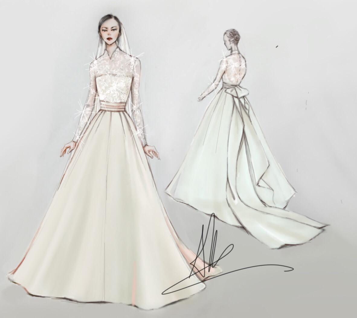 Bí mật chiếc váy cưới biến Đặng Thu Thảo thành nàng công chúa trong ngày cưới-9
