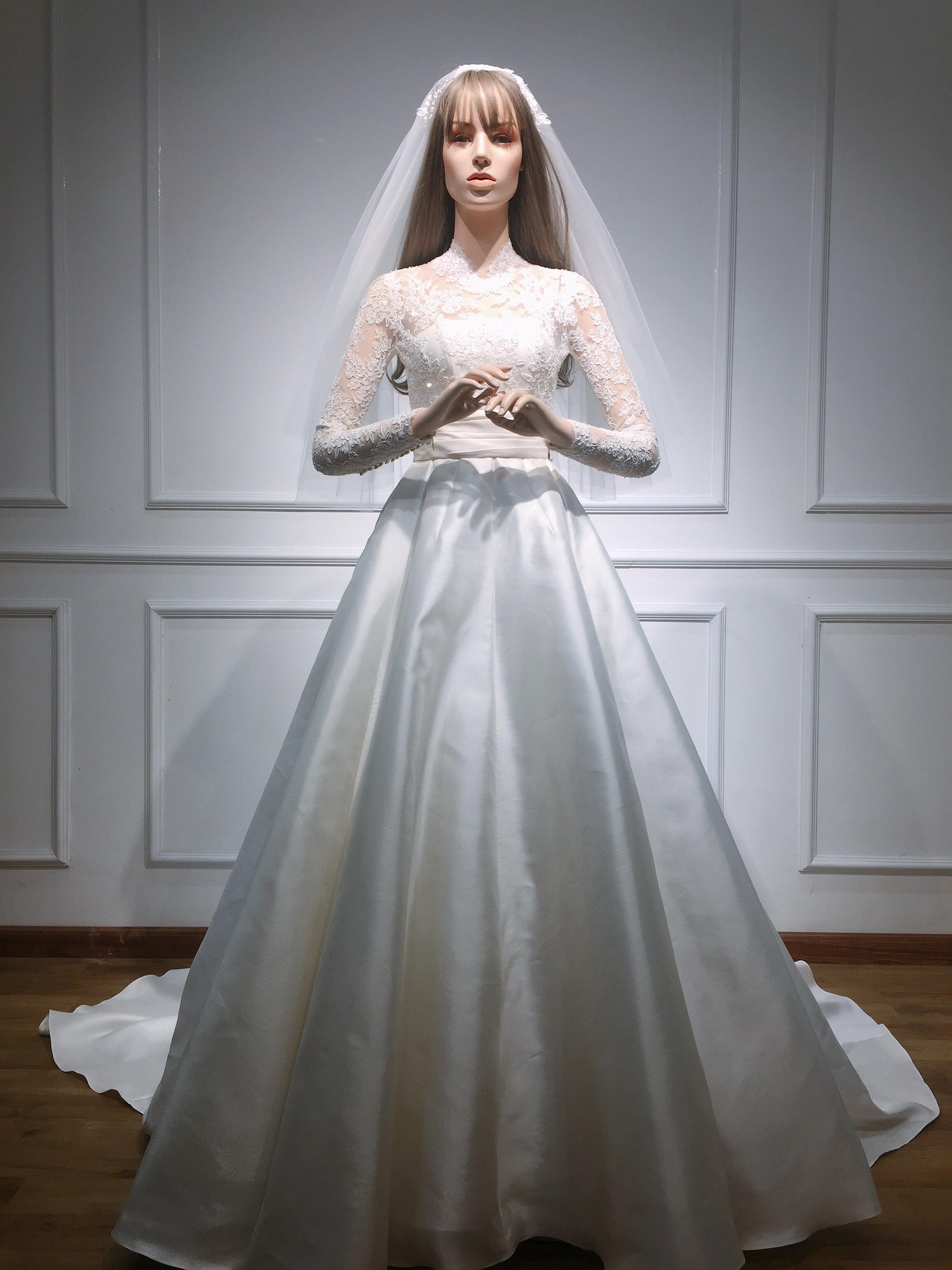 Bí mật chiếc váy cưới biến Đặng Thu Thảo thành nàng công chúa trong ngày cưới-8