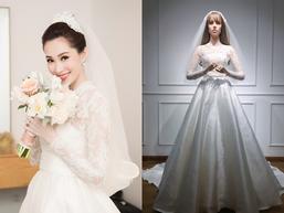 Bí mật chiếc váy cưới biến Đặng Thu Thảo thành nàng công chúa trong ngày cưới