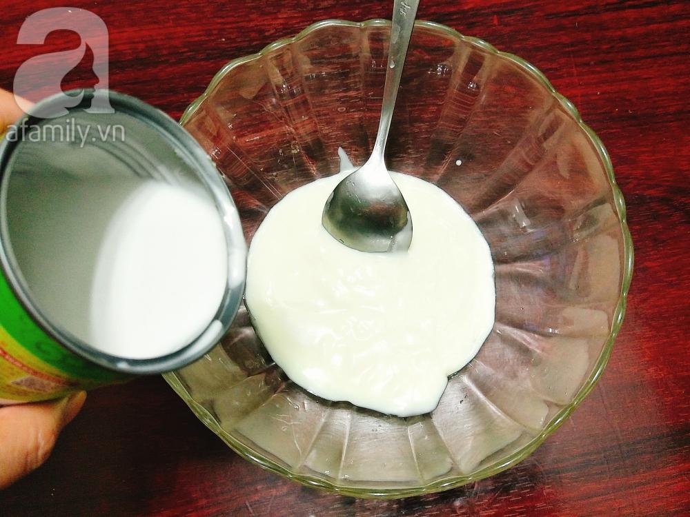 4 bước làm kem xoài sữa chua mát lịm ngon ngất ngây-2