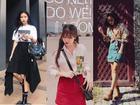 Học cách mix đồ street style cùng chân váy 'chất phát ngất' như Châu Bùi, An Japan