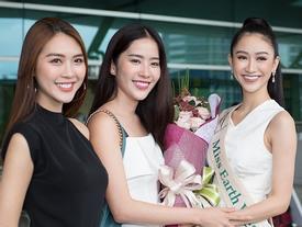 Hà Thu lên đường tham dự Hoa hậu Trái đất 2017