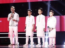 Bộ ba hotboy team Soobin Hoàng Sơn cực xinh trai hóa 'cò trắng' khiến khán giả nổi da gà
