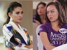 Hoa hậu Hoàn vũ Việt Nam 2017: Võ Hoàng Yến khó chịu vì thái độ 'khác người' của Mai Ngô