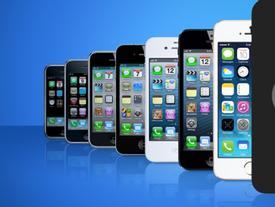 Kiểu dáng của iPhone qua các thời kì