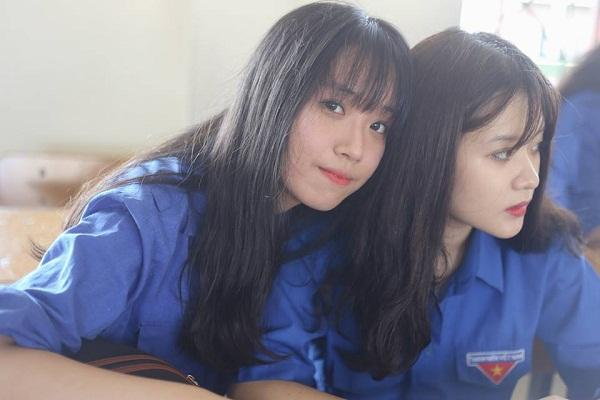 Lạc vào động tiên toàn gái đẹp của trường THPT Chuyên Đại học Vinh-12