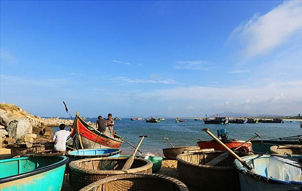 Mục sở thị làng chài đẹp nhất Nam Trung Bộ-3