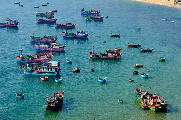 Mục sở thị làng chài đẹp nhất Nam Trung Bộ-6