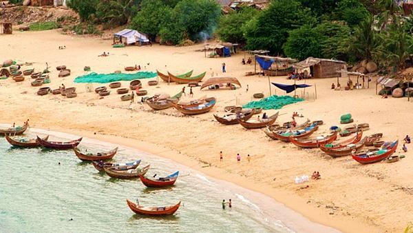 Mục sở thị làng chài đẹp nhất Nam Trung Bộ-10