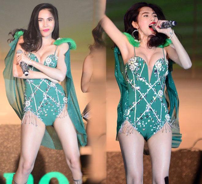 Đồ diễn như bikini của ca sĩ Việt: Sao cho hết phản cảm?-1