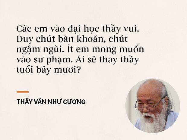 Những câu nói sống mãi trong trái tim mọi thế hệ học trò của thầy Văn Như Cương-2