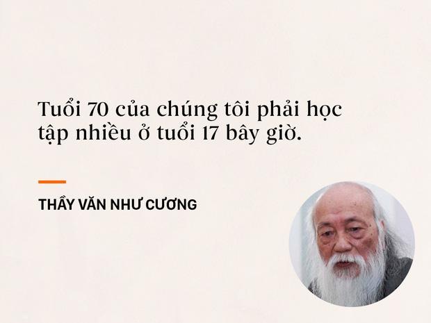 Những câu nói sống mãi trong trái tim mọi thế hệ học trò của thầy Văn Như Cương-3