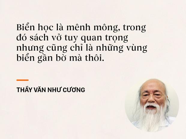 Những câu nói sống mãi trong trái tim mọi thế hệ học trò của thầy Văn Như Cương-4