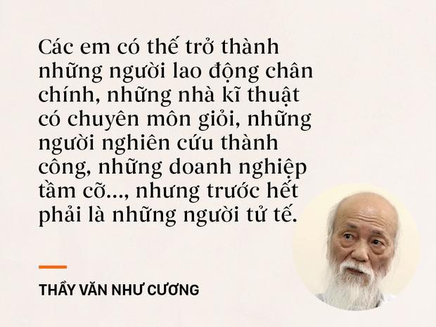 Những câu nói sống mãi trong trái tim mọi thế hệ học trò của thầy Văn Như Cương-5