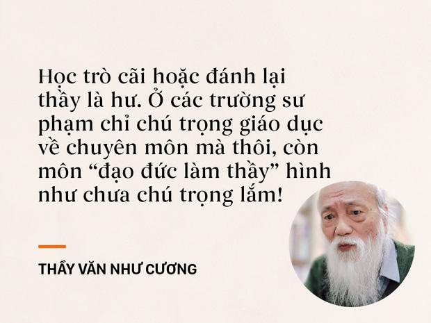 Những câu nói sống mãi trong trái tim mọi thế hệ học trò của thầy Văn Như Cương-7