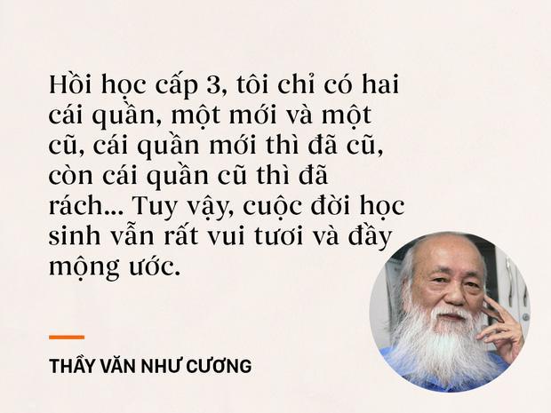 Những câu nói sống mãi trong trái tim mọi thế hệ học trò của thầy Văn Như Cương-1
