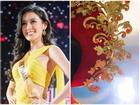 Cận cảnh quốc phục nặng tới 30kg của Huyền My tại Miss Grand International 2017