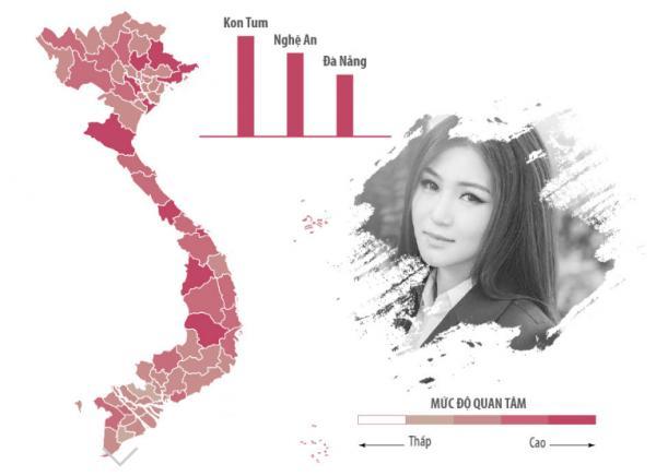Sao Việt được tìm kiếm nhiều nhất ở khu vực nào?-8