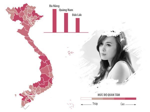 Sao Việt được tìm kiếm nhiều nhất ở khu vực nào?-4