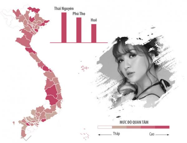 Sao Việt được tìm kiếm nhiều nhất ở khu vực nào?-11