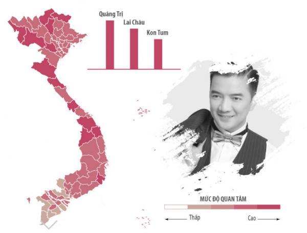 Sao Việt được tìm kiếm nhiều nhất ở khu vực nào?-10