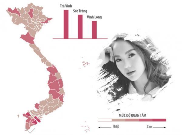 Sao Việt được tìm kiếm nhiều nhất ở khu vực nào?-12