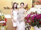 Hoa hậu Huỳnh Thuý Anh rạng rỡ dự sự kiện ở TP.HCM