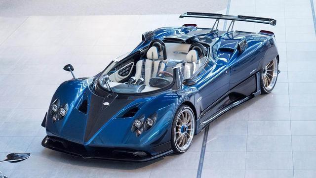 Chiêm ngưỡng siêu xe hiếm Pagani Zonda HP Barchetta-1