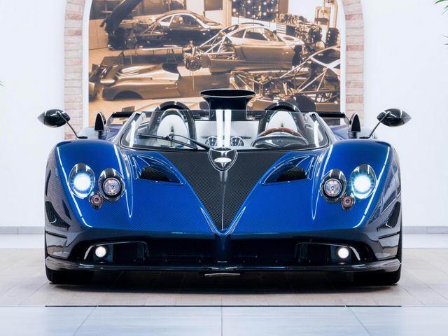 Chiêm ngưỡng siêu xe hiếm Pagani Zonda HP Barchetta-2