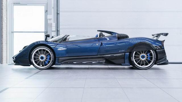 Chiêm ngưỡng siêu xe hiếm Pagani Zonda HP Barchetta-3