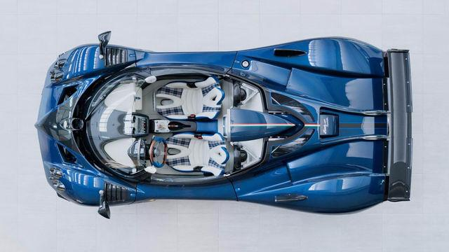 Chiêm ngưỡng siêu xe hiếm Pagani Zonda HP Barchetta-4