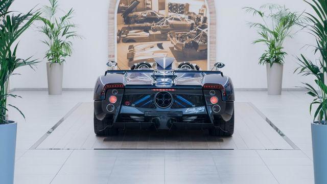 Chiêm ngưỡng siêu xe hiếm Pagani Zonda HP Barchetta-5