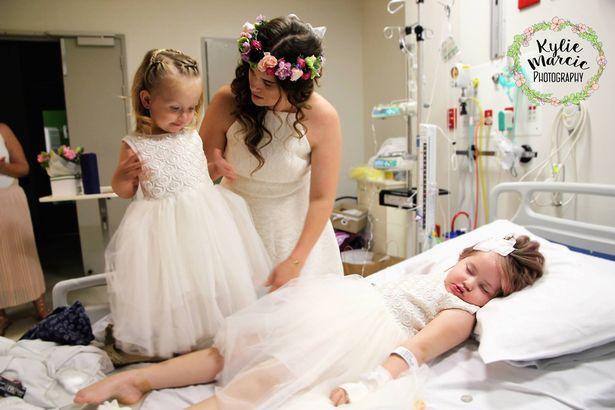 Đám cưới đẫm nước mắt của cặp vợ chồng kết hôn lần 2 vì con gái 4 tuổi sắp từ giã cõi đời-5